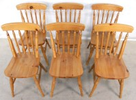 Antique Pine Dining Chairs | Antique Furniture